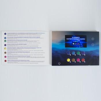 Видеобуклет А5 с экраном 4,3 дюйма с консультациями для пациентов